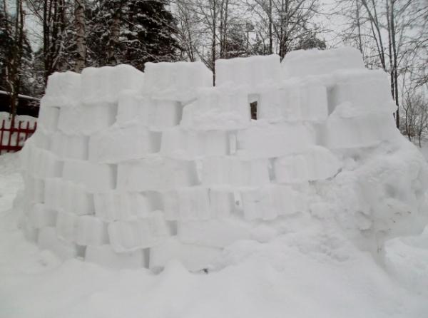lumilinna-laatikkomuoteilla