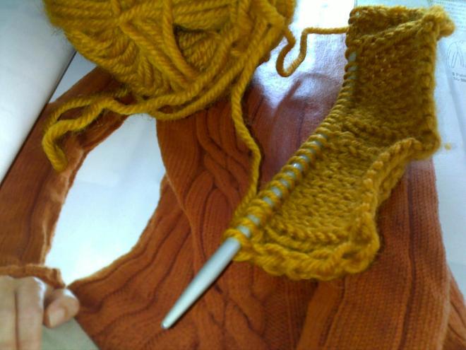 ensimmäinen keltainen villapaita